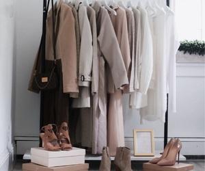 closet, fashion, and neutral image