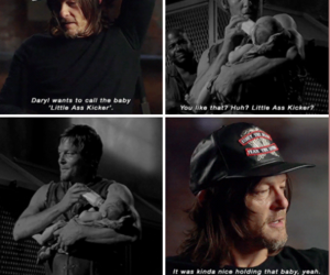 boy, the walking dead, and daryl dixon image