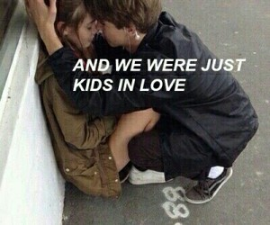 love, couple, and kids image