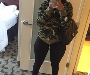 casual, thick, and yeezys image