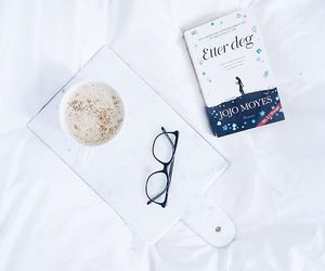 autumn, bed, and glasses image