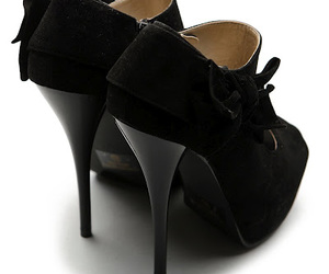 black shoes, high heels, and pumps image