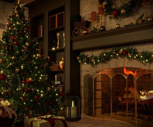 cosy, decorated, and traditional image