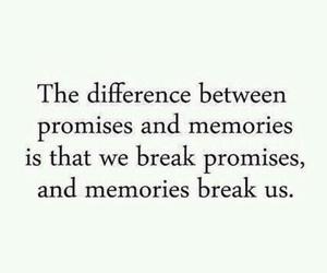 memories, promise, and break image