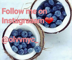blueberries, staypositive, and staystrong image