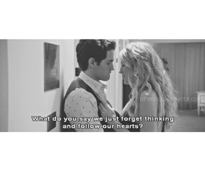quote, Relationship, and gossip girl image