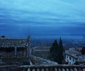 blu, clouds, and italy image