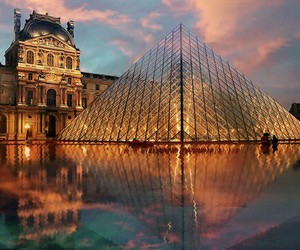 paris, france, and louvre image
