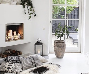 candle, cozy, and decor image