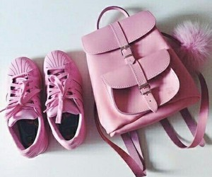 pink, bag, and adidas image