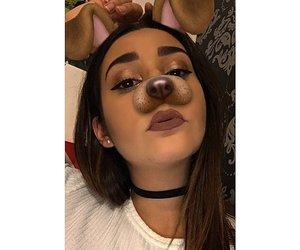 eyebrow, postbad, and girl image