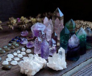crystal, pretty, and purple image
