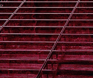 red, aesthetic, and dark red image