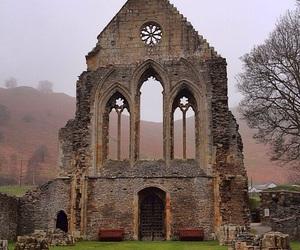 ruins, wales, and abby ruins image
