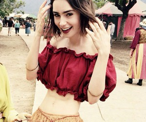 lily collins and actress image
