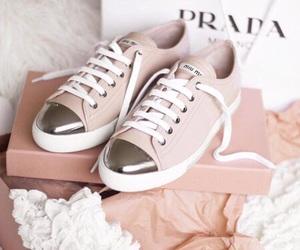 shoes, Prada, and pink image