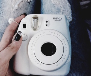 camera, white, and fujifilm image