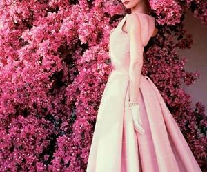 1950's, audrey hepburn, and dior fashion image