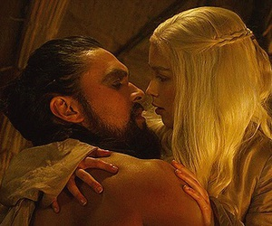 got, daenerys, and love image