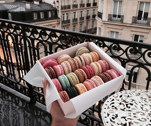 food, paris, and macaroons image