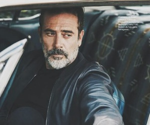 jeffrey dean morgan, negan, and the walking dead image
