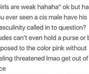 boys, feminism, and girls image