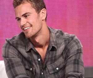hot guy, smile, and theo james image