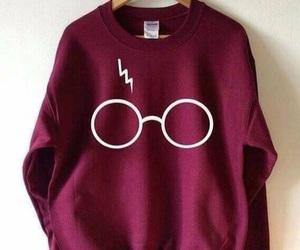 harry potter, sweatshirt, and harrypotter image