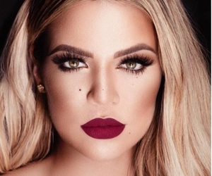 make up and khloe kardashian image