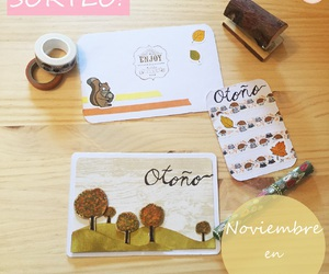 autumn, giveaway, and cardmaking image