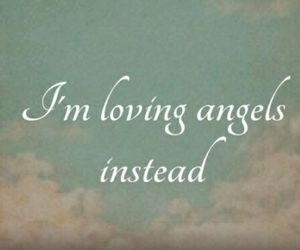 angels, Lyrics, and music image