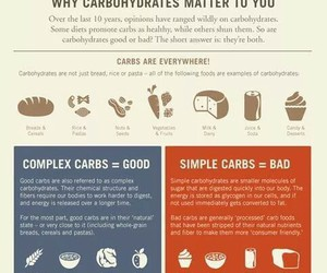healthy, carbs, and fit image