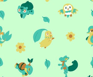 pattern, pokemon, and cute image