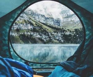 beautiful, camping, and eau image