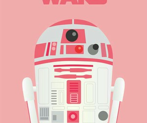 star wars, pink, and wallpaper image