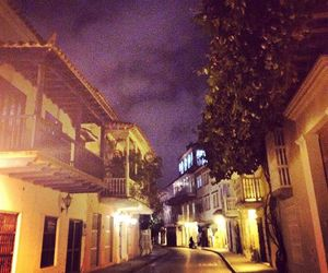 colombia, cartagena, and night image