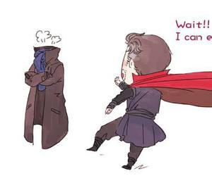 funny, lol, and sherlock image