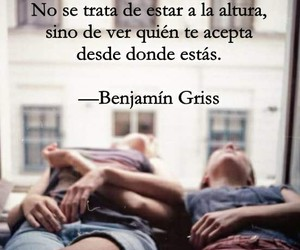frases, benjamin griss, and tumblr image