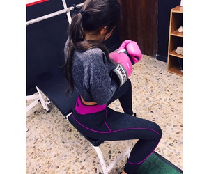 boxing, girl, and me image