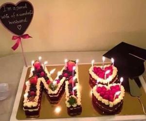 cake and M image