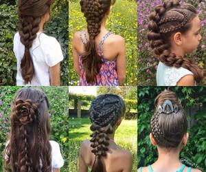 fashion, peinados, and girls image