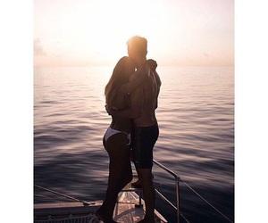 beautiful, boat, and boy image