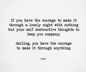 courage, important, and quote image