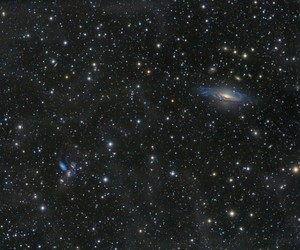 galaxy, stars, and universe image