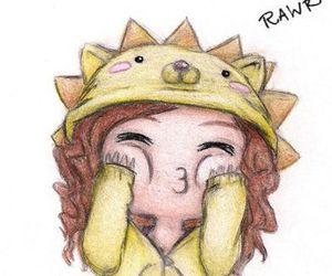 drawing, rawr, and draw image