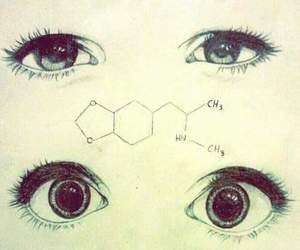 eyes, drugs, and chemistry image