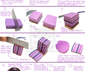 polymer clay, tutorial, and cute image