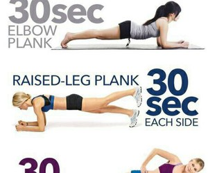 abs plank fit fitness gym image