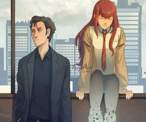 anime, fanart, and steins;gate image