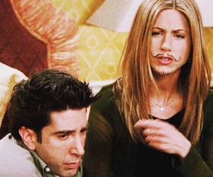 David Schwimmer, Jennifer Aniston, and friends image